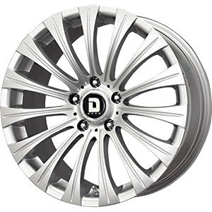 Drag DR-43 Silver Wheel (17×8″/5×114.3mm)