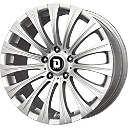 Drag DR-43 Silver Wheel (17×8″/5×114.3mm)