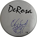 "Chad Smith Signed Auto 12"" Drum Head Drumhead Red Hot Chili Peppers GA GV 814234"