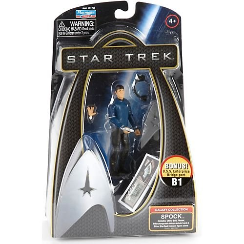 Star Trek Movie Playmates 3 3/4 Inch Action Figure Spock (Enterprise Uniform)