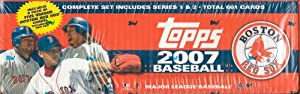 2007 Topps MLB Baseball Factory Sealed 661 Card Set Which Includes a Bonus Pack of 5... by 2007 Topps Baseball Factory Sealed Set