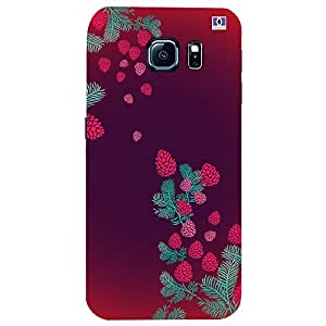 Red & Pink Design - Mobile Back Case Cover For Samsung Galaxy S7