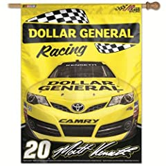 NASCAR Matt Kenseth Vertical Flag, 27 x 37-Inch by WINAV