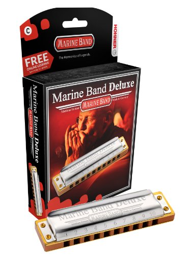 Hohner M2005BX-G Marine Band Deluxe Harmonica, Key of G