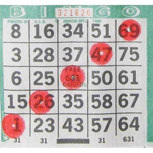 One Dozen 3oz Bingo Brite Coral Bingo Dauber gibson seg 700ml brite wires nps wound 011 050