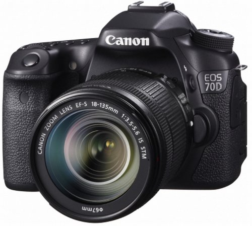 CANON EOS 70D+EF-S18-135 IS STM