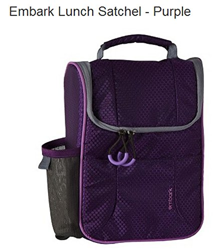 Embark Lunch Satchel - Purple