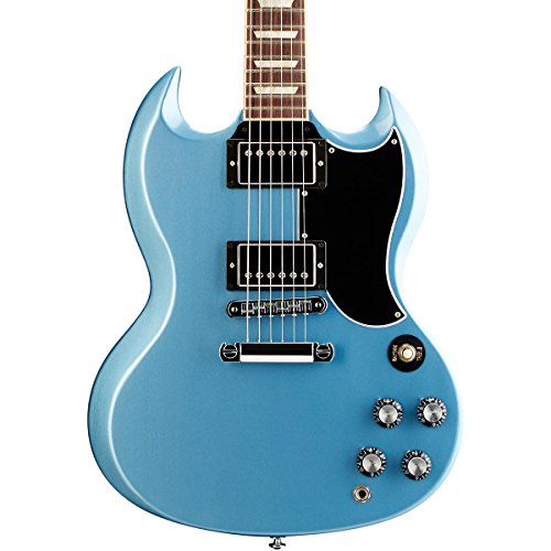 Gibson Sg Standard '61 With Coil Split Electric Guitar Pelham Blue