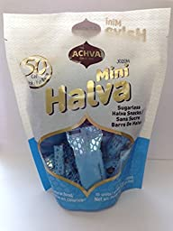 Oxygen Mini Halva Snacks - Vanilla Sugar Free 5.3 oz, Pack of 6