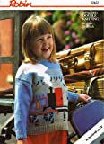 Child's Thomas the Tank Engine Picture Knit Sweater - Thomas and the Ticket Office - Robin Knitting Pattern 13633, 20-28 in chest, in Robin Reward Double Knitting
