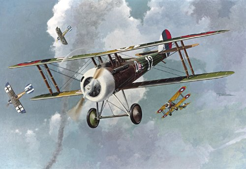 Roden Nieuport 28 French-Built Fighter Airplane Model Kit