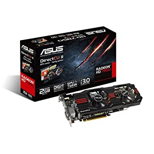 Asus AMD Radeon HD 7850 DirectCU II Graphics Card (2GB GDDR5, PCI Express 3.0)