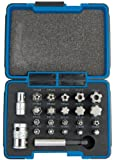 Draper Expert 23241 1/4-inch/ 3/8-inch Tx-Star Plus Bit Set (23 Pieces)