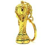 全国のサッカーファンに緊急案内! 2014年 FIFAワールドカップ ブラジル大会 優勝トロフィー キーホルダー 金メッキ塗装