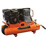Industrial Air Contractor CT5590816.02 8-Gallon Grade Belt Driven Wheelbarrow Air Compressor with Subaru Engine
