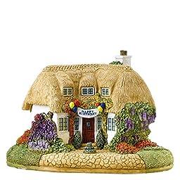 Lilliput Lane Cottage Birthday Cake - British Collection - England