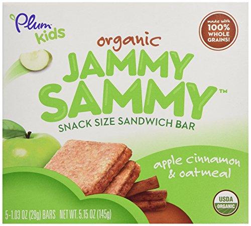 Plum Organics Bar Jmy Smy Cinnamon Otl 5pk, 5.15 oz - 1