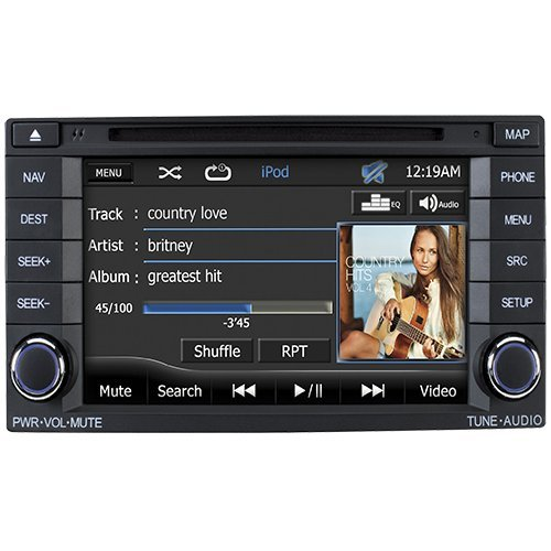 "Advent Osufor1 2009 - 2014 Subaru Forester / Impreza 7"" Touch Screen Oe-Styled Multimedia / Navigation System With Bluetooth"