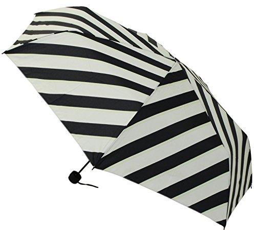 【晴雨兼用】 折りたたみ傘 収納袋入 バイアス ミニ 58cm MSM-012