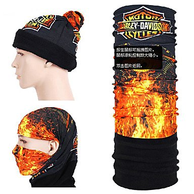 Xs Pattern Magic Fleece Scarf Collar Hat Mask For Skiing