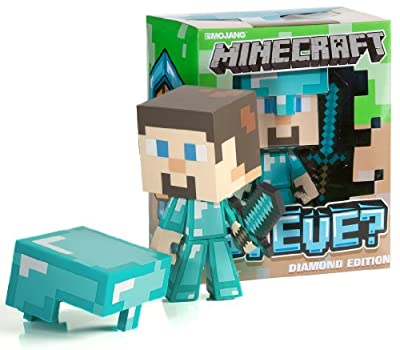 Minecraft Diamond Steve 6 Vinyl Figure from Jinx