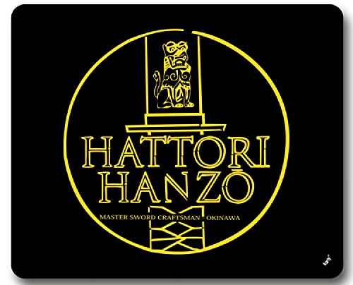 Logos Mouse Pad - Hattori Hanzo Master Sword Craftsman Okinawa (9 x 7 inches) (Master Hanzo compare prices)