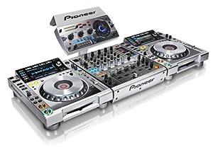 Pioneer DJ set: 2 x CDJ-2000 Nexus + DJM-900 Nexus + RMX-1000 Platinum Limited Edition Set