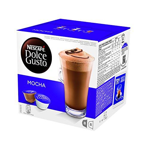 NESCAFÉ DOLCE GUSTO MOCHA, cioccolata al caffè, 16 capsule (8 tazze)