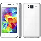 "SODIAL Unlocked Quadband Dual Sim Android 4.2 with 4.0"" Touch Screen Unlocked Cell Phone White Newest Model"