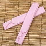 モス腰紐・ピンク1本 留袖・訪問着・振袖・色無地・浴衣にも必ず必要です