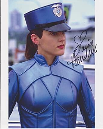Elaine Hendrix Inspector Gadget Autographed Photo at Amazon's