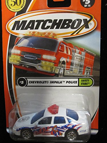 Chevrolet Impala Police (D.A.R.E. Tampo) Matchbox 50th Anniversary Edition #5 - 1
