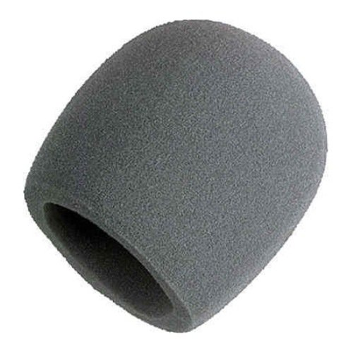 Shure A58Ws-Gra Foam Windscreen For All Shure Ball Type Microphones, Gray