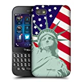 Head Case Designs Liberty American Pride Protective Snap-on Hard Back Case Cover for BlackBerry Q5