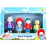 Ella the Elephant - Ella and Friends Figures (4-Pack)