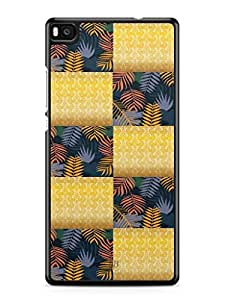YuBingo Colourful Pattern Mobile Case Back Cover for Huawei P8