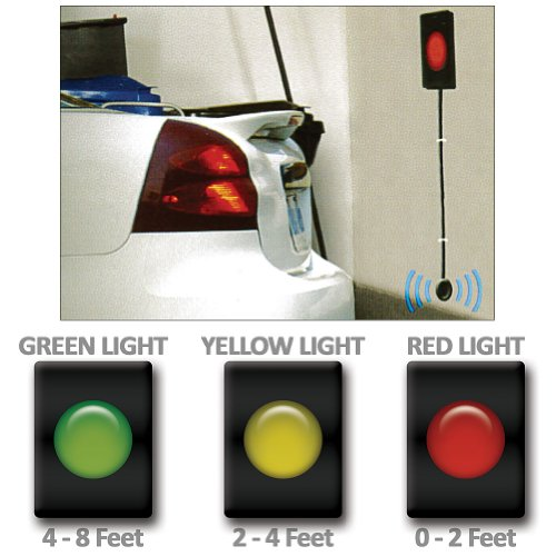garage parking sensor led traffic light warning signals. Black Bedroom Furniture Sets. Home Design Ideas