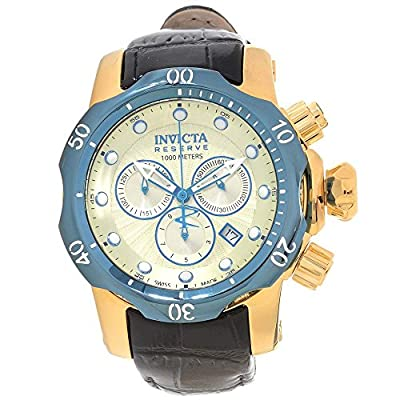 Invicta Men's 16684 Venom Analog Display Swiss Quartz Black Watch