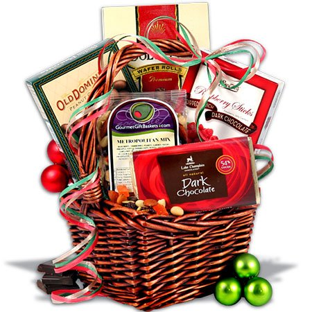 Mini Christmas Gift Basket