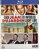 Image de Jean Dujardin - Coffret - Les infidèles + Cash + Lucky Luke [Blu-ray]