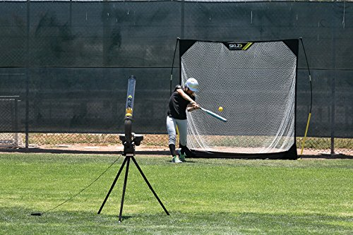 dual wheel pitching machine