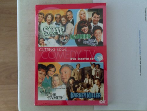 Cutting Edge COMEDY TV DVD Starter Set Feat. SOAP, Married with Children, All in the Family, Barney Miller