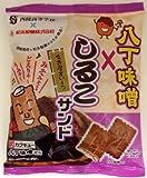 松永製菓 八丁味噌しるこサンド 100g×12袋