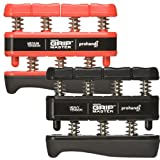 Gripmaster Hand And Finger Exerciser Combo Pack -Red And Black