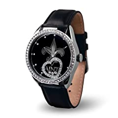 Brand New New Orleans Saints NFL Beat Series Ladies Watch by Things for You