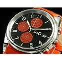 D&Gドルチェ&ガッバーナ サンドパイパークロノグラフ本革腕時計 DW0107