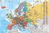 Carte Europe avec