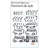 Exercices de Style (0828837708) by Queneau, Raymond