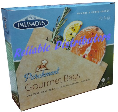 Best Quality Best Brand Parchment Gourmet Cooking Bag, 20 Bags Per Pack image