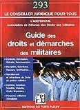 Image de Guide des droits et démarches des militaires